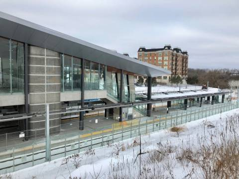 Snapshot of Cyrville Station - January 10, 2019