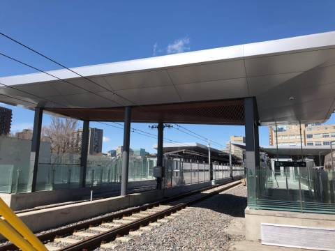 Snapshot of uOttawa Station - April 13, 2019