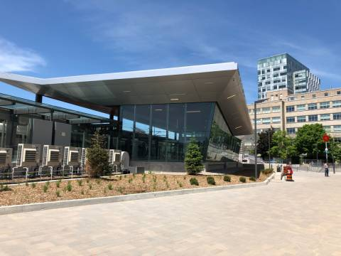 Snapshot of uOttawa Station - June 9, 2019