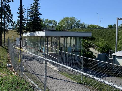 Snapshot of Mooney's Bay Station - June 18, 2020