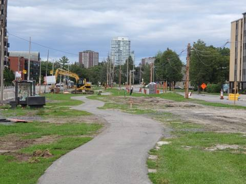 Snapshot of Sherbourne Station - August 25, 2020