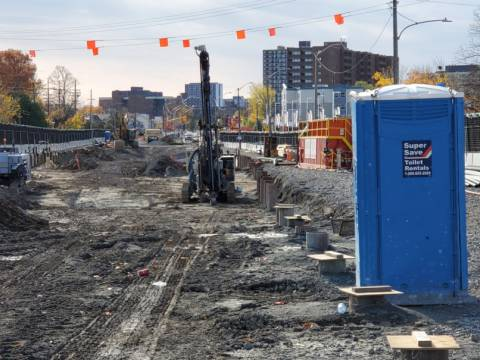Snapshot of New Orchard Station - October 25, 2020