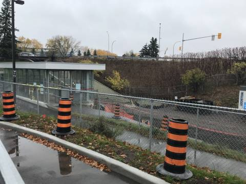 Snapshot of Mooney's Bay Station - October 26, 2020