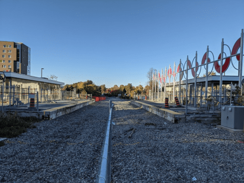 Snapshot of Carleton Station - October 11, 2020