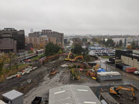 Snapshot of Carleton Station - October 26, 2020