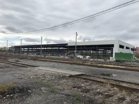 Snapshot of Walkley Yard MSF - October 28, 2020