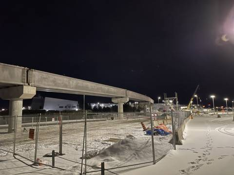 Snapshot of Airport Station - January 6, 2021