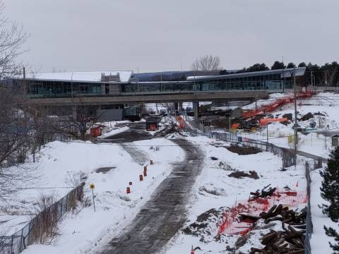 Snapshot of Bayview Station - March 6, 2021
