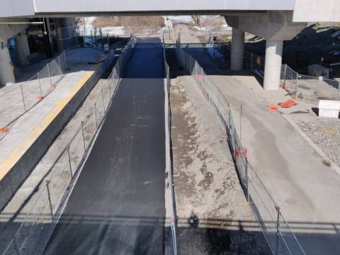 Snapshot of Bayview Station - March 20, 2021