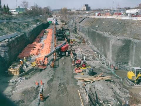 Snapshot of Corso Italia Station - March 23, 2021