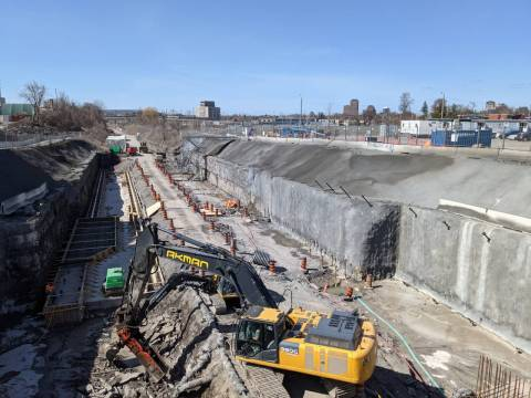 Snapshot of Corso Italia Station - April 7, 2021