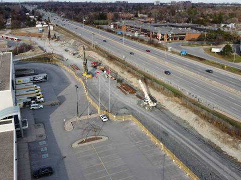 Snapshot of Queensview Station - April 10, 2021
