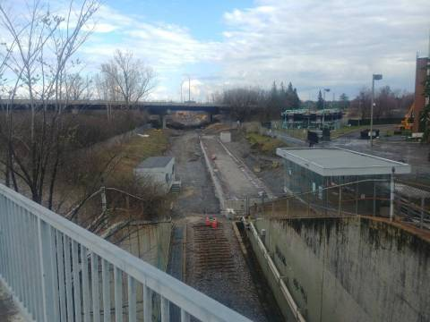 Snapshot of Mooney's Bay Station - April 14, 2021