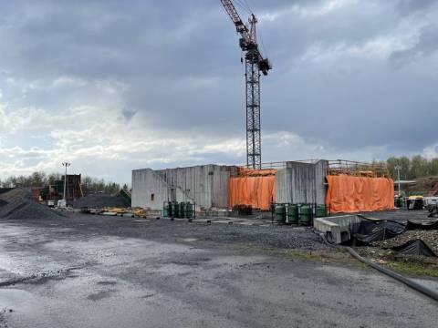 Snapshot of Uplands Station - April 25, 2021