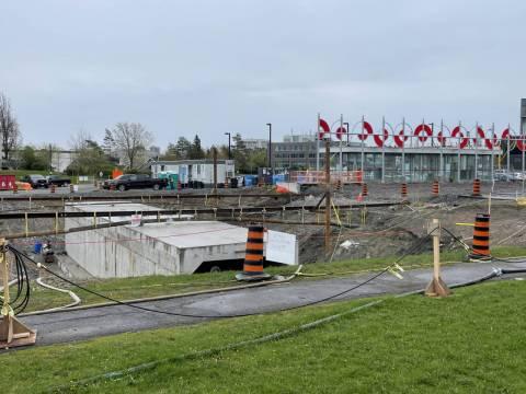 Snapshot of Carleton Station - May 3, 2021
