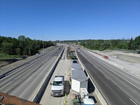 Snapshot of the 174 Highway from the SJAM - May 29, 2021