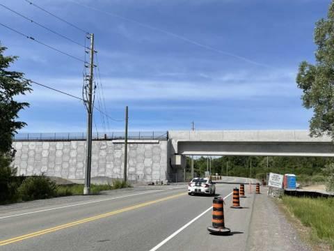 Snapshot of Lester Rail Overpass - June 12, 2021