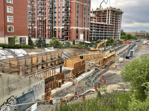 Snapshot of Walkley Station - June 14, 2021