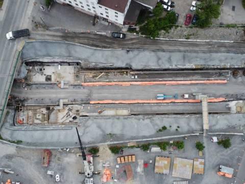 Snapshot of Corso Italia Station - June 12, 2021