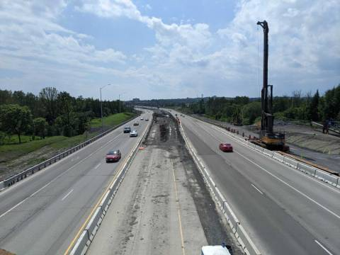 Snapshot of Highway 174 at Sir George-Étienne Cartier Parkway - June 27, 2021