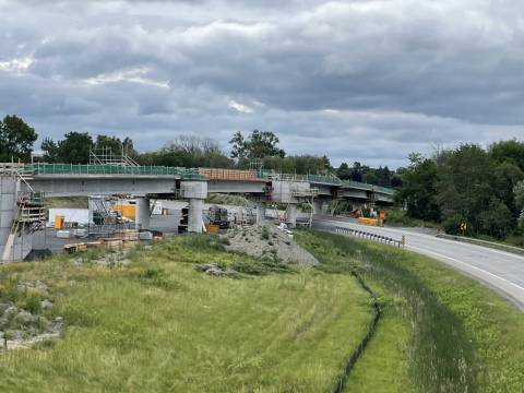 Snapshot of the Lincoln Fields Rail Flyover - July 2, 2021