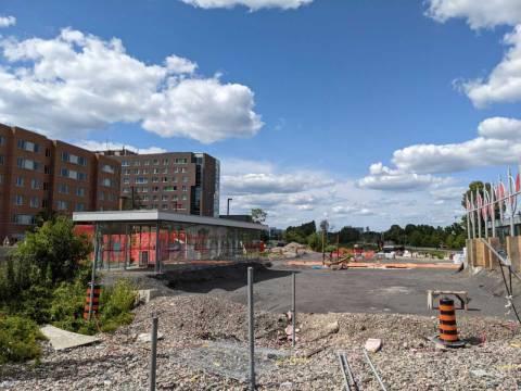 Snapshot of Carleton Station - July 10, 2021