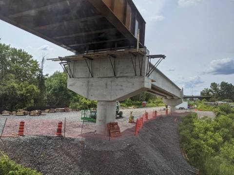 Snapshot of the Ellwood Rail Flyover - July 9 & 11, 2021
