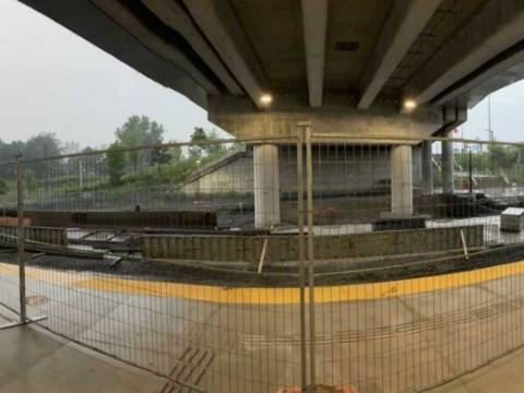Snapshot of Bayview Station - July 25, 2021