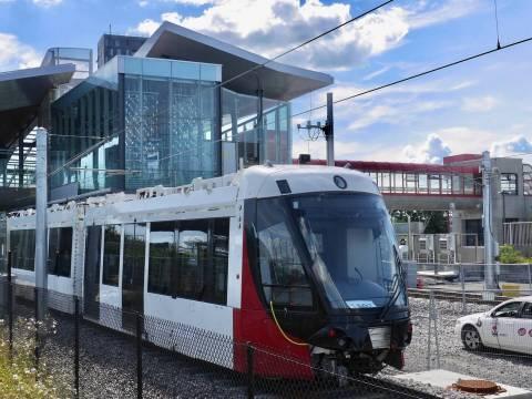 Snapshot of Blair Station - August 12, 2018